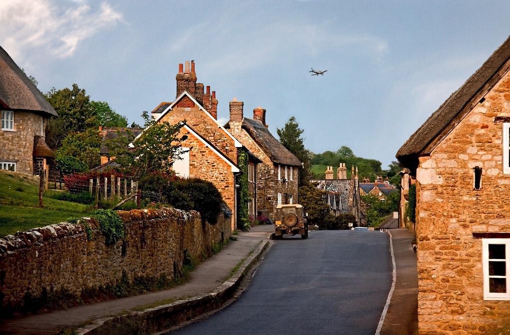 English village Airbnb