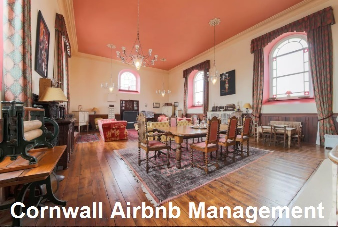chapel cornwall Airbnb management